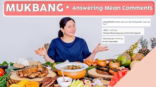 Mukbang + Intense Answering Mean Comments  [INTENSE]