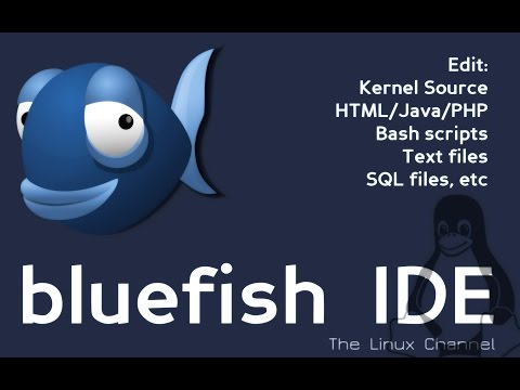 Bluefish IDE