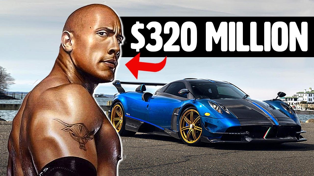 The Rock Has a Wildly Expensive Car Collection