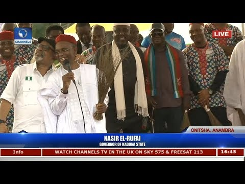 """""""I Was Arrested, Detained For 2 Days In Anambra"""" - El-Rufai (Watch Video)"""