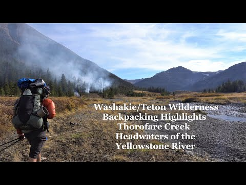 Greater Yellowstone Highlights: Backpacking Thorofare Creek/Yellowstone River Headwaters