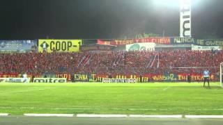 Turba Roja - Recibimiento FAS vs Alianza
