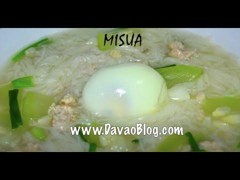 How To Cook Misua Recipe (Mee Sua)