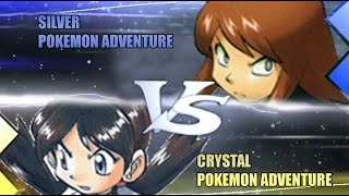 Pokemon Omega Ruby & Alpha Sapphire [ORAS]: Silver Vs Crystal (Pokemon Adventures)
