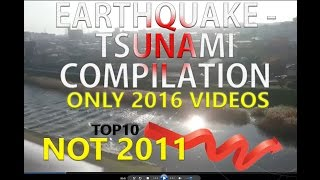 [ RAW ] - [ 2016 ] JAPAN EARTQUAKE TSUNAMI - VIDEOS COMPILATION 11-22-2016 (NOT 2011)  FOOTAGE 地震
