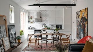 Interior Design | Tour Scandinavian Home With Charming Terrace
