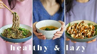HEALTHY & LAZY MEALS | 3 Easy & Healthy Recipes That Taste AMAZING! (Ad)