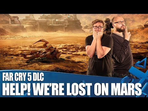 Far Cry 5: Lost On Mars DLC - ARE THOSE SPACE SPIDERS?!