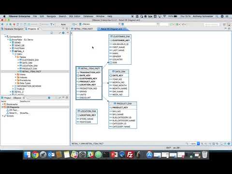 Querying and Modelling in Snowflake using DBeaver - YouTube