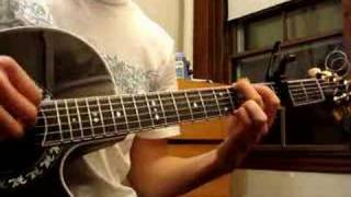 Yesterday (Beatles) cover on acoustic guitar