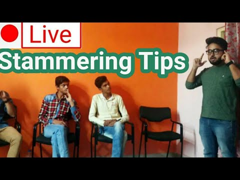 🔴Live : live streaming session on stammering | 22/04/2018 |