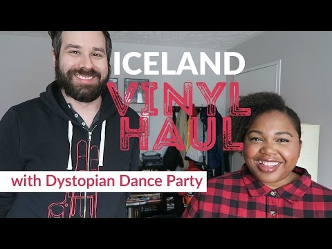 ICELAND VINYL HAUL - with Dystopian Dance Party