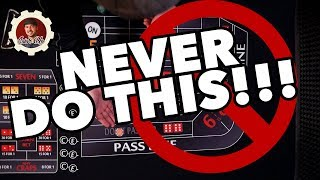 Craps Players - Stop it!