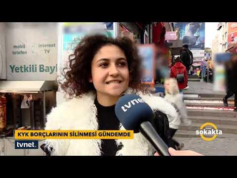 TVNET Sokakta - KYK Borçları Siliniyor Mu?