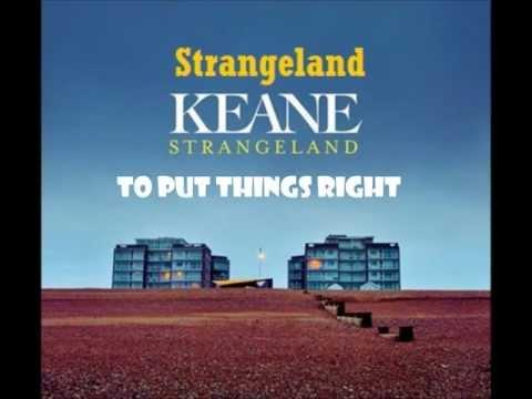 Keane - Strangeland (Lyrics)