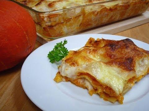 Kürbis- Lasagne