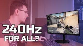 Acer XF252Q Review - 240Hz for all?