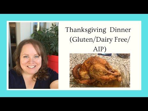 Gluten Free, Dairy Free, AIP Thanksgiving Dinner