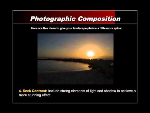 Tips for Landscape Photography