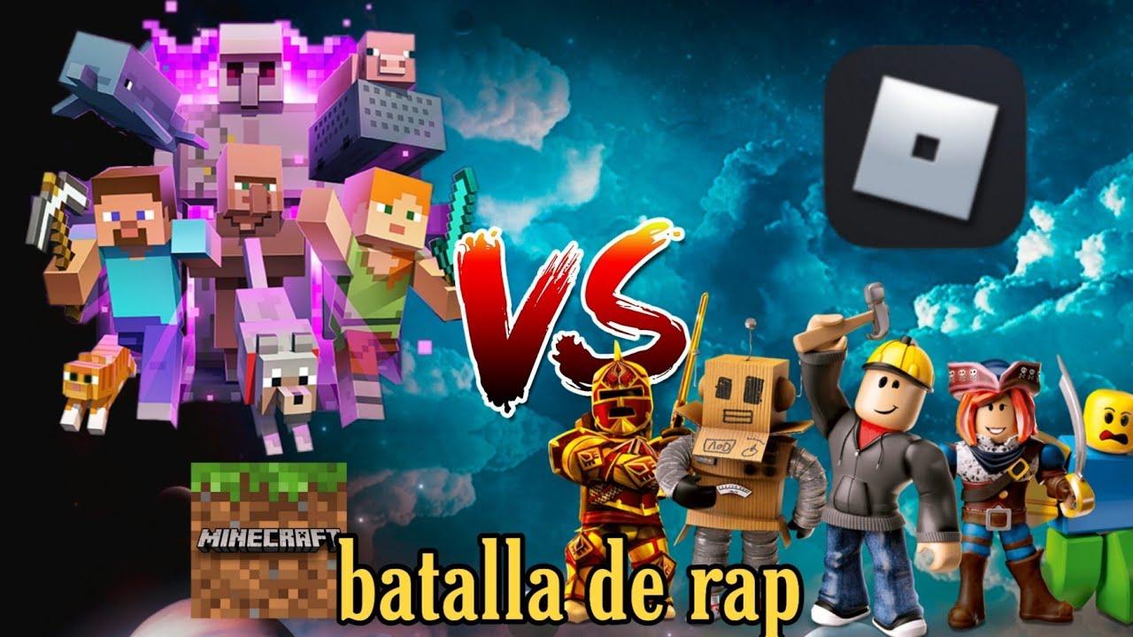 Minecraft Vs Roblox Rap