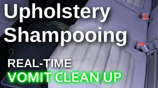 Interior Detailing // Upholstery Shampooing // Carpet Cleaning // Honda CRV // Vomit Job