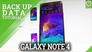 How to Back Up SAMSUNG Galaxy Note 4 - Allow Google Backup