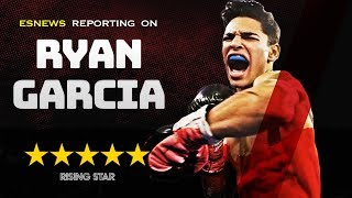 Sick Speed: Ryan Garcia Showing His Sick Speed On Double End Bag EsNews Boxing