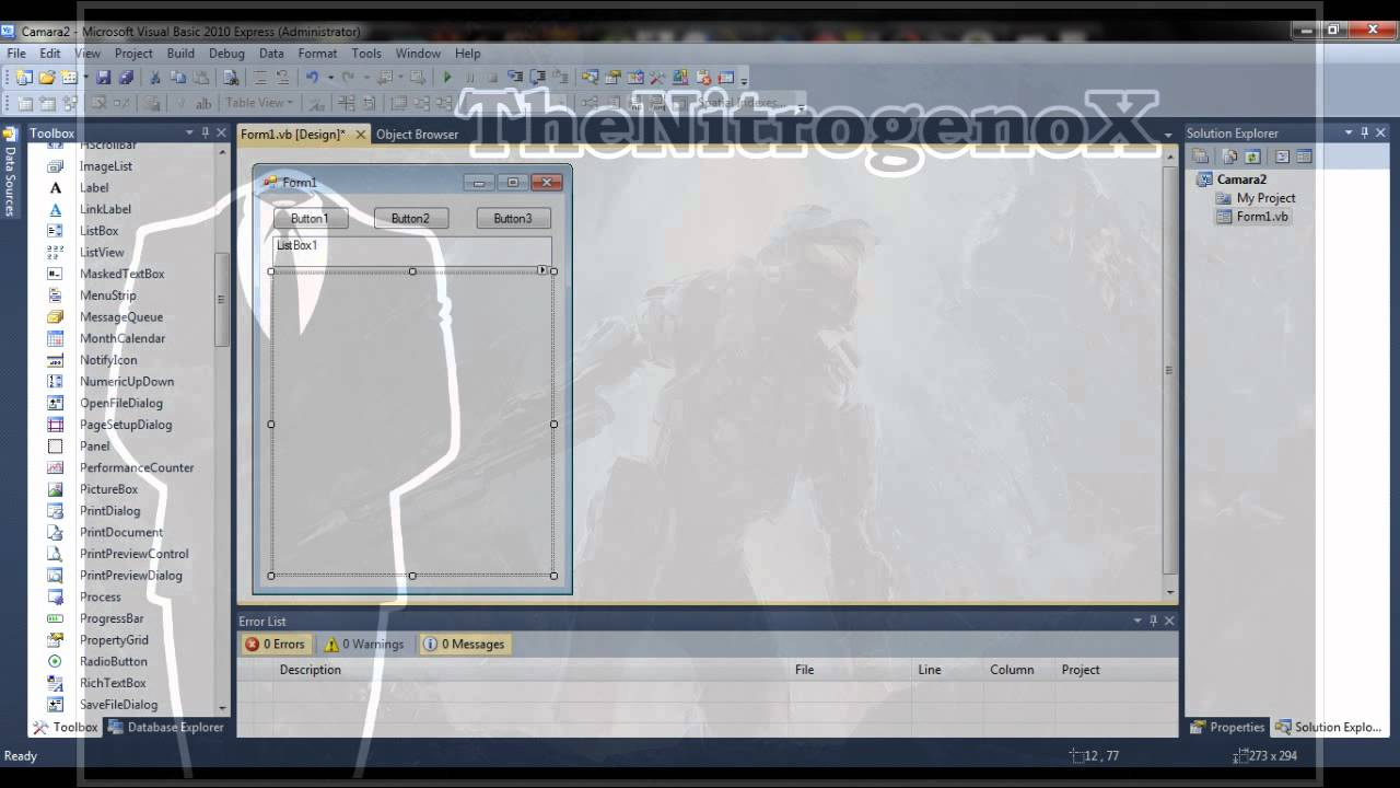 Visual Basic Express Webcam 44