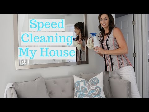 Power Hour Cleaning | Speed Cleaning My House + Fast Cleaning Tips