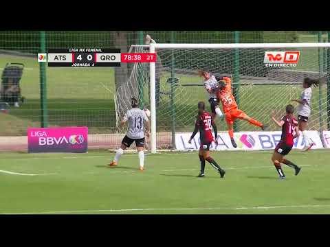 Gol Olímpico Fabiola Ibarra | Atlas Femenil 4 - 0 Querétaro Femenil | Liga MX - Clausura 2020  |