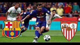 БАРСЕЛОНА СЕВИЛЬЯ Прогноз и Ставка на футбол Чемпионат Испании 4 10 2020