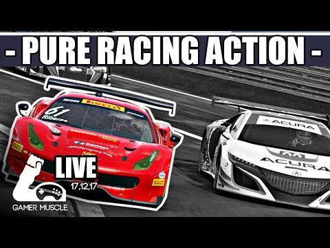 PURE RACING ACTION - PROJECT CARS 2 - ONLINE RACING WITH SUBS