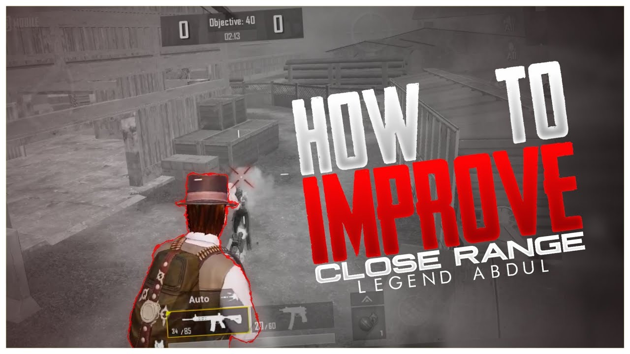 How To Improve Close Combat||Pubg Mobile||ft.Pmis Hackers