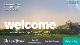 BBC Sunday Worship June 20