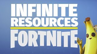 How to Set Up Infinite Resources in Fortnite Creative Mode