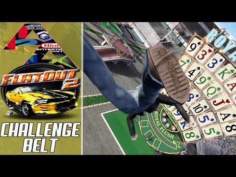 FlatOut 2: Grand Stunts Challenge!|Armbar Arcade Challenge Belt #1