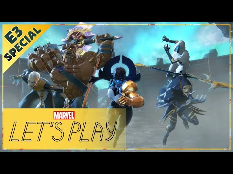 MARVEL ULTIMATE ALLIANCE 3: The Black Order Gameplay! | E3 2019