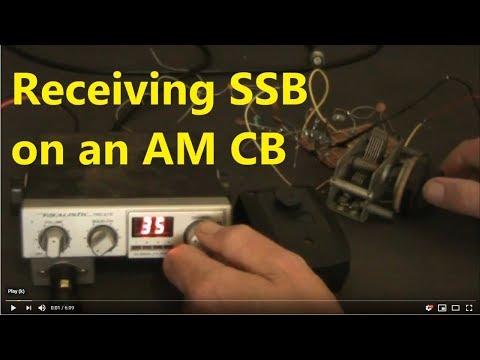 Receiving SSB on a 27 MHz AM CB radio