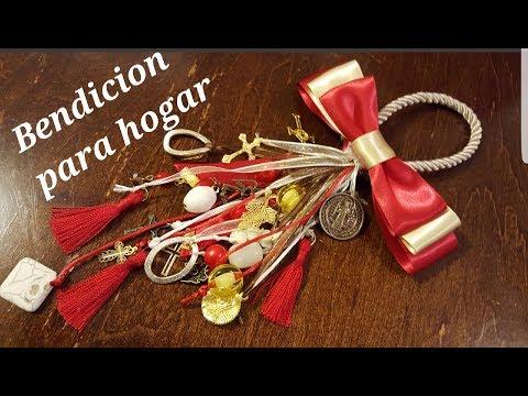 7fafc14b5d99 Como hacer los nudos de las bendiciones para puerta by Merceria San José