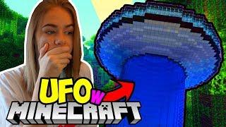 UFO w MINECRAFT?! - Mleczna Kraina #1