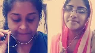 Paattu paadi urakkam njan...Me With Rashmi Madhu