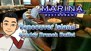 Vancouver Island Sunday Brunch Buffet @ Marina Restaurant in Victoria