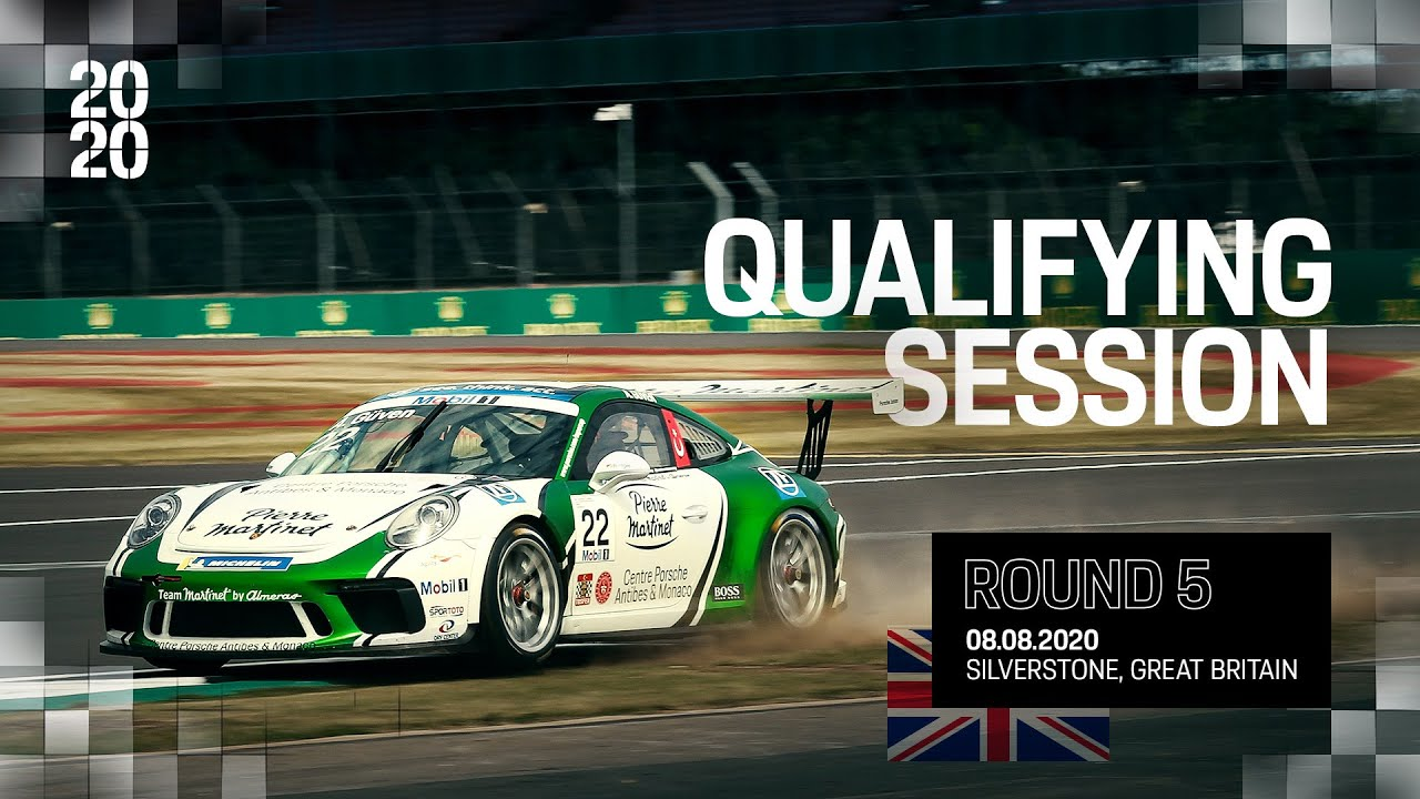 Qualifying Session Silverstone, Round 5, Porsche Mobil 1 Supercup 2020