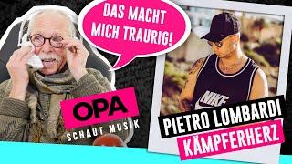 Opa schaut Musik - Pietro Lombardi (Kämpferherz)