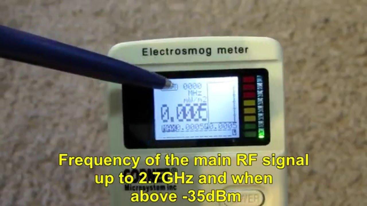 Step By Step EMF Measurement Guide - No Radiation (ELF/RF