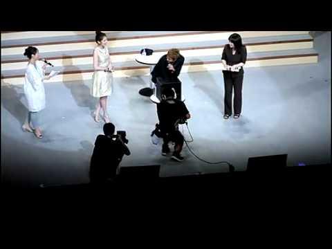 [110802-fancam] Kim Hyun Joong - Jung So Min  PK Japan