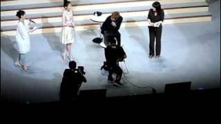 [110802-fancam] Kim Hyun Joong - Jung So Min  PK Japan