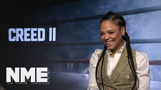 Creed II star Tessa Thompson on singing, acting, boxing and the aliens living among us