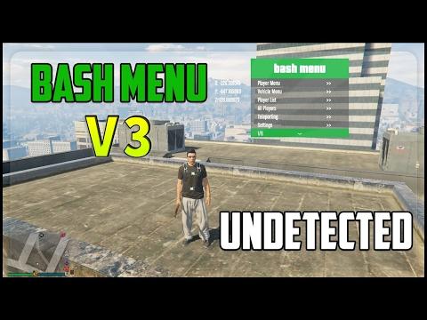 GTA 5 PC Online BASH MENU V3 0 1 43 - AMAZING Mod Menu! NEW