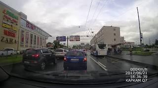 видео Движение по выделенной полосе